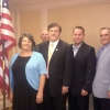 Congressman John Fleming and LHLA meet